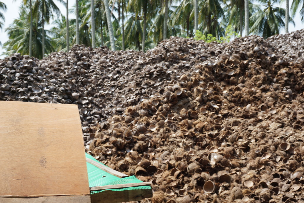 Coconut Shell Charcoal Producer & Exporter