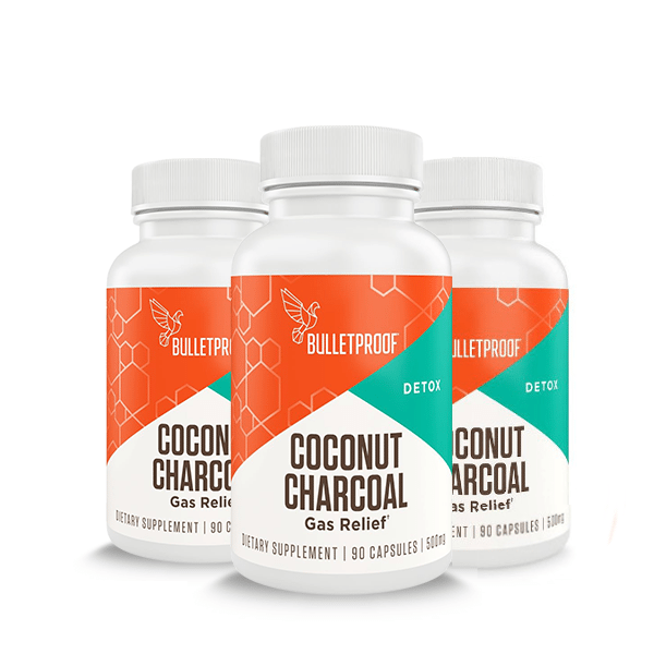 BULLETPROOF COCONUT CHARCOAL PILLS 1