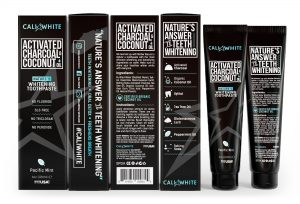 CALI WHITE ACTIVATED CHARCOAL COCONUT OIL TOOTHPASTE
